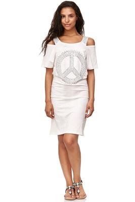 Kleider-Schulterfreies Kleid
